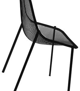 Chair Round Black Emu Christophe Pillet 1