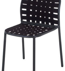 Yard Black Emu chair Stefan Diez 1