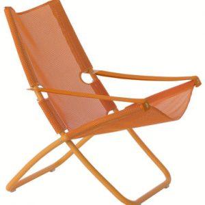 Deckchair Snooze Orange Emu Alfredo Chiaramonte | Marco Marin 1