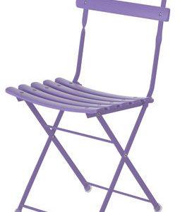 folding chair Arc en Ciel Lilac Emu Centro Ricerche Emu 1