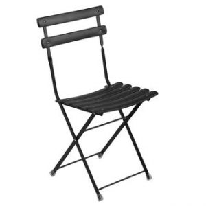 Folding chair Arc en Ciel Black Emu Centro Ricerche Emu 1