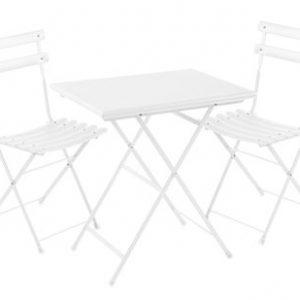 Set Arc en Ciel 2 sedie + 1 tavolo 70x50cm Bianco Emu Centro Ricerche Emu 1