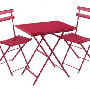 September Arc en Ciel 2 1 Tisch + Stühle 70x50cm Red Emu Centro Ricerche Emu 1