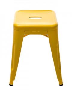 Sgabello H - H 45 cm - Les Couleurs® Le Corbusier Giallo acceso Tolix Xavier Pauchard 1