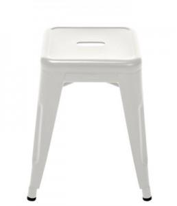 Sgabello H - H 45 cm Les Couleurs® Le Corbusier Grigio chiaro 31 Tolix Xavier Pauchard 1