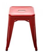 Sgabello H - H 45 cm - Les Couleurs® Le Corbusier Rosso vermiglio 59 Tolix Xavier Pauchard 1