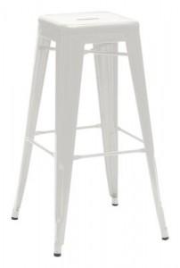 Sgabello alto H - H 75 cm - Les Couleurs® Le Corbusier Grigio chiaro 31 Tolix Xavier Pauchard 1