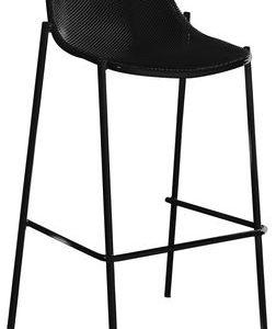 High stool Round Black Emu Christophe Pillet 1