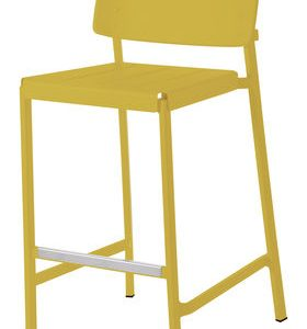 High stool Shine Yellow mustard Arik Levy Emu 1