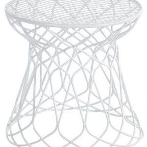 Low stool Re-trouvé Emu White Patricia Urquiola 1