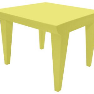 Tavolino Bubble Club Giallo tenue Kartell Philippe Starck 1