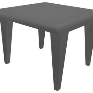 Bubble Club coffee table Light gray Kartell Philippe Starck 1