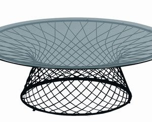 Heaven coffee table Ø 120 cm Black Emu Jean-Marie Massaud 1