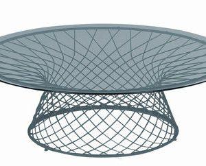 Mesa de aluminio Cielo Emu Jean-Marie Massaud 1