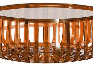 Tabelle orange Kartell Panier Ronan & Erwan Bouroullec 1