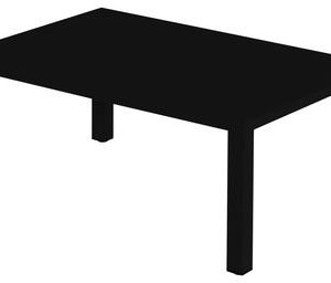 Coffee Table Round Black Emu Christophe Pillet 1
