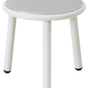 Patio de mesa de café Ø cm 40 1 blanca Emu Stefan Diez
