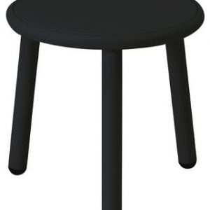 Patio de mesa de café Ø cm 40 1 Negro Emu Stefan Diez