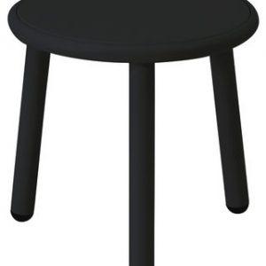 Yard coffee table Ø cm 40 1 Black Emu Stefan Diez