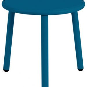 Yard coffee table Ø cm 50 1 Blue Emu Stefan Diez