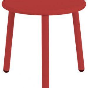 Patio mesa de centro Ø cm Rojo Emu 50 1 Stefan Diez