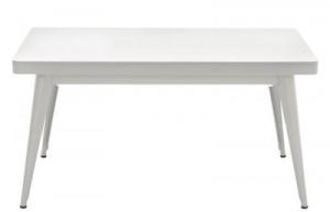 Tavolino basso 55 / 90 x 55 cm - Les Couleurs® Le Corbusier Grigio chiaro 31 Tolix Jean Pauchard 1