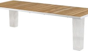 Ivy White | Teak table Paola Navone Emu 1