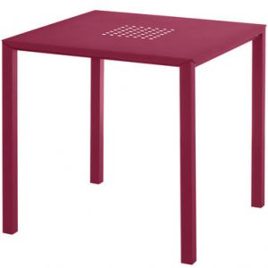 Table Jolly 80 80 cm x Red Emu Centro Ricerche Emu 1