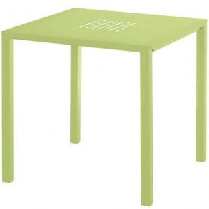 Tavolo Jolly 80 x 80 cm Verde Emu Centro Ricerche Emu 1
