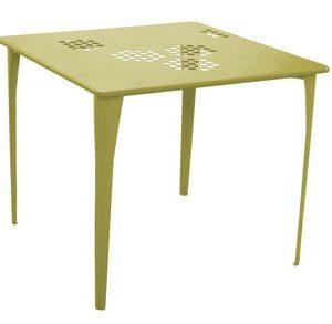Tabellenmuster 87 87 cm x Grün Emu Arik Levy 1