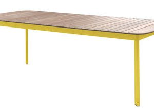 Shine Yellow Mustard table | Teck Arik Levy Emu 1