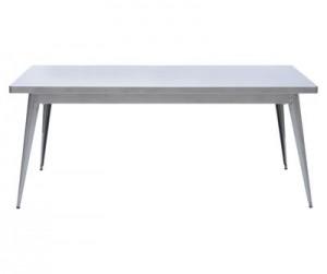 Tavolo Tavolo 55 L 180 x larg 90 cm Acciaio grezzo Tolix Jean Pauchard 1