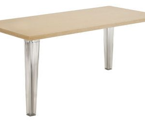 Table Top Top 190 cm roble blanqueado Kartell Philippe Starck 1