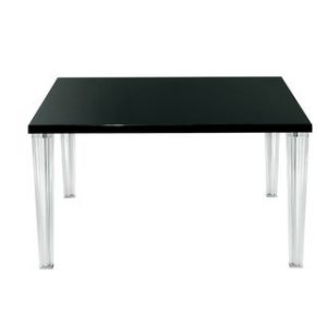 Top Table Top Kristall 130 cm Schwarz Kartell Philippe Starck 1