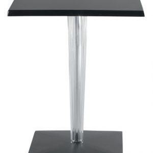 Top Top Table - Dr. YES Kartell Philippe Starck Black 60x60 cm 1