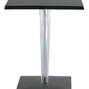 Top Top Table - Dr. YES Kartell Philippe Starck Black 70x70 cm 1