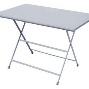 folding table Arc en Ciel 110 70 cm x Aluminium Research Centre Emu Emu 1