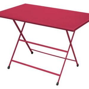 mesa plegable Arc en Ciel 110 70 cm x Rojo Emu Emu Centro Ricerche 1