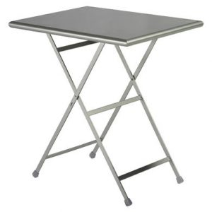 mesa plegable Arc en Ciel 70 50 cm x Centro de Investigación de aluminio Emu Emu 1
