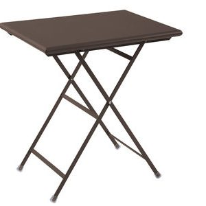Folding table Arc en Ciel Antique iron Emu Centro Ricerche Emu 1