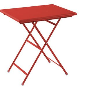 Folding table Arc en Ciel Red Emu Centro Ricerche Emu 1