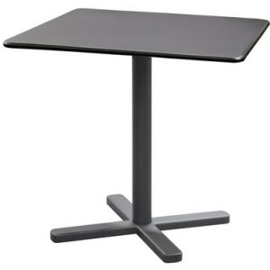 folding table Darwin 80 80 cm x Antique iron Emu-Lucidi Pevere 1