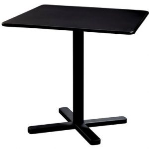 folding table Darwin 80 80 cm x Black Emu Polishes-Pevere 1