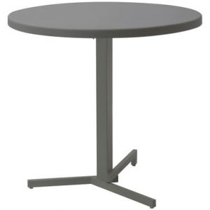 My folding table round Ø 80 cm Grey Emu Jean Nouvel 1