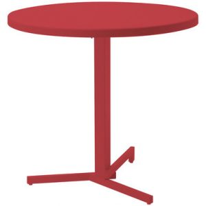 My folding table round Ø 80 cm Red Emu Jean Nouvel 1
