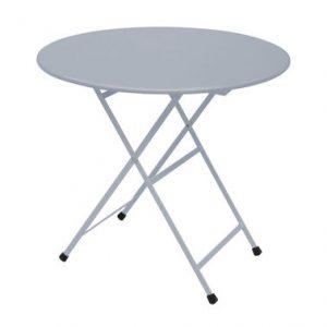 Folding round table Arc en Ciel Ø 80 cm Aluminium Research Centre Emu Emu 1