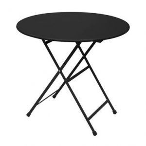 Folding round table Arc en Ciel Ø 80 cm Black Emu Emu Research Centre 1