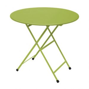 Folding round table Arc en Ciel Ø 80 cm Green Emu Research Centre Emu 1