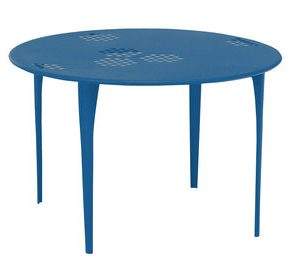 Redondo Patrón mesa Ø 117 cm azul azul Emu Arik Levy 1