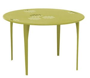 Round table Pattern Ø cm Green Emu 117 1 Arik Levy